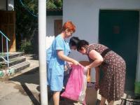 В Коктебельском детском саду состоялся субботник