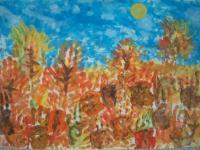 В Коктебельском детском саду «Жемчужинка» прошла выставка детских работ «Краски осени»  В холодную осеннюю  погоду, работы  детей  порадовали нас яркими теплыми красками, дали заряд бодрости и хорошего настроения.