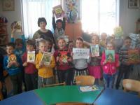 В «Коктебельском детском саду «Жемчужинка» прошли мероприятия, посвященные Международному дню детской книги.