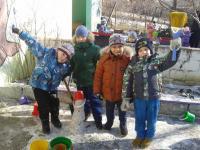 В Коктебельском детском саду «Жемчужинка» прошла  «Неделя зимних игр и забав!»