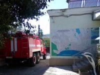 В детском саду прошла тренировка по эвакуации людей и тушению условного пожара