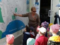 В Коктебельском детском саду «Жемчужинка» с детьми было проведено увлекательное путешествие по родному поселку – Коктебель.
