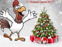 Есть сказка мудрая в народе, в ней петушок есть золотой. И снова праздник к нам приходит, с предновогодней суетой. Пусть в Новый год, как в старой сказке, добро прибудет в каждый дом! Ведь символ года не напрасно зовется Красным Петухом!