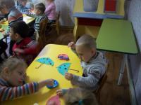 """НОД с детьми группы №1 """"Рыбки"""" на тему """"Подарки осени"""""""