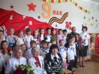 В «Коктебельском детском саду «Жемчужинка» прошел праздник, посвященный дню Победы.