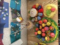 В нашем детском саду прошли мероприятия, посвященные празднику Пасхи. Во всех возрастных группах проводились тематические беседы, познавательные викторины и развлечения. Ребята узнали об истории праздника, его традициях и символах