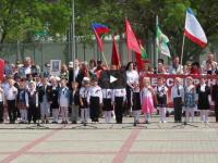 Активные участники  концерта, посвященного Дню Победы в пгт.Коктебель
